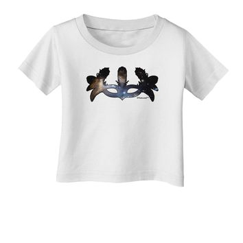 Galaxy Masquerade Mask Infant T-Shirt by TooLoud