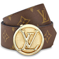 Free shipping-LV CIRCLE belt