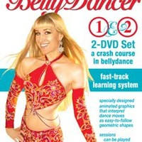 """""""Instant Belly Dancer: A Crash Course in Belly Dance"""" DVD with Neon"""