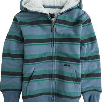 O'NEILL TODDLER BIXBY SHERPA STRIPED JACKET