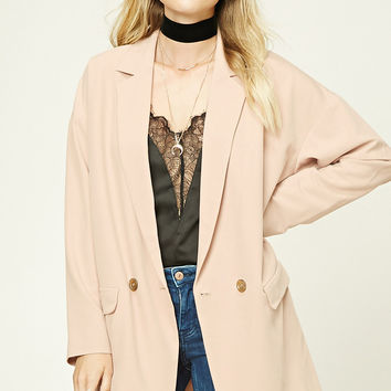 Contemporary Oversized Blazer
