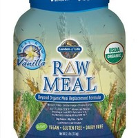 Garden of Life RAW Organic Meal Vanilla 33.5 oz (949g) Powder