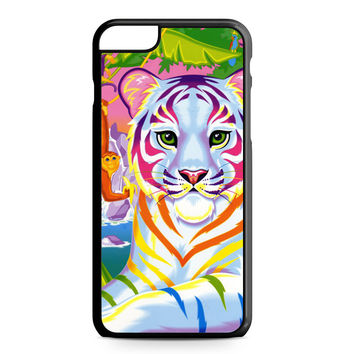 Lisa Frank Neon Tiger and Monkey 90's iPhone 6 Plus case