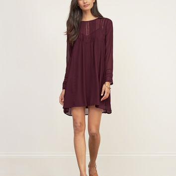 Chiffon Swing Dress