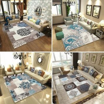 Nordic style Carpets For Living Room Bedroom Sofa coffee table Study bedside Carpet Model Showcase Rugs 3D Printed Household Rug