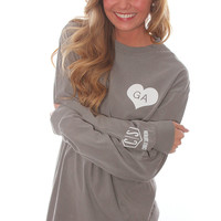 state spirit long sleeve - Georgia [grey]