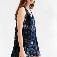 BB Dakota Landon Dress- Blue Multi