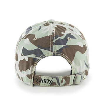 San Francisco Giants Faded Camo Tarpoon '47 Brand Clean Up Baseball Cap