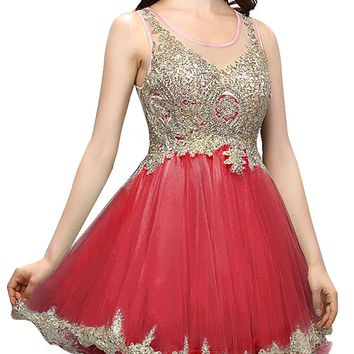 Women's Short Tulle Homecoming Dresses