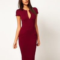 ASOS Sexy Pencil Dress with Pockets at asos.com