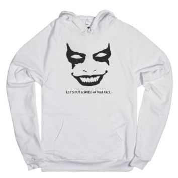 Let's put a smile on that face Joker Hoodie