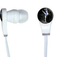 Gymnast Blue - Gymnastic Vault Pommel Horse In-Ear Headphones
