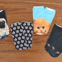 Adorable Animal Socks