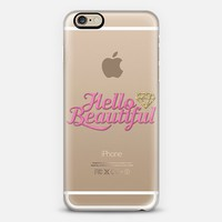Hello Beautiful 02 iPhone 6s case by Noonday Design | Casetify