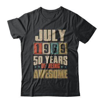 July 1969 50 Years Of Being Awesome Birthday Gift