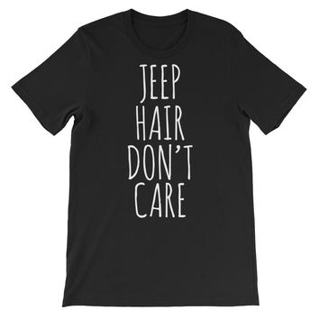 Jeep Hair Don't Care Unisex Graphic Tee