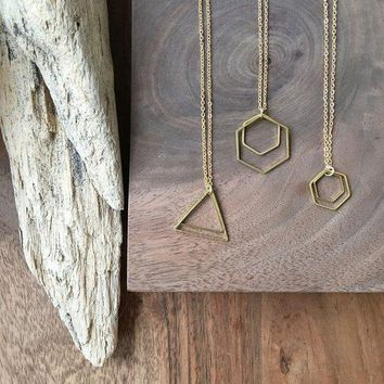 Fate & Coincidence - Little Shapes Necklace