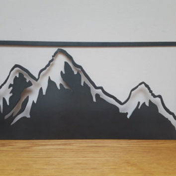 Mountain Range Wall Art