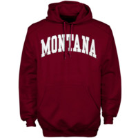 Montana Grizzlies Bold Arch Hoodie – Maroon
