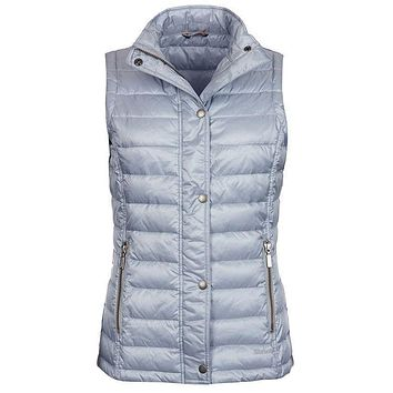Alasdiar Quilted Gilet in Ice Blue by Barbour
