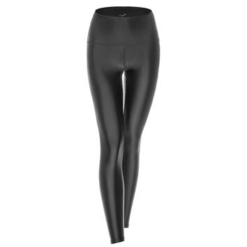 BEYOND LEGGING - HIGH WAISTED LIQUID BLACK