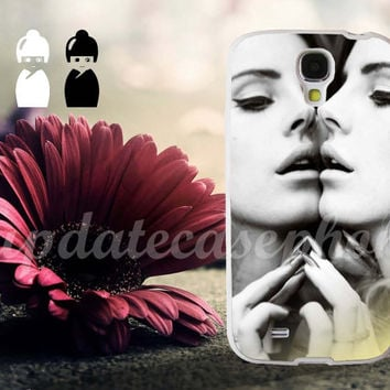 Lana Del Rey Mirror Face to Face - Photo Print for iPhone 4/4s, iPhone 5/5S/5C, Samsung S3 i9300, Samsung S4 i9500 Hard Case