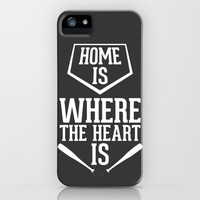 Home is Where the Heart Is iPhone & iPod Case by LookHUMAN