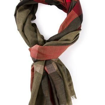 Burberry London Large Check Scarf