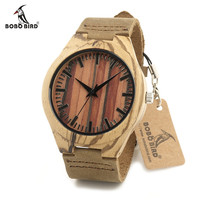 Wood Wooden WristWatches For Women and Men Adjustable Wood Band Quartz Watches for Lovers Gift