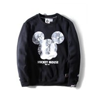 spbest AAPE BY A BATHING APE?? l Mickey Mouse 2017ss