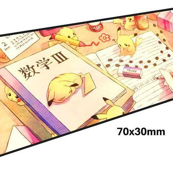 s mouse pad gamer 700x300mm notbook mouse mat large gaming mousepad large cheapest pad mouse PC desk padmouseKawaii Pokemon go  AT_89_9