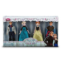 Disney Frozen Exclusive Mini Doll Set [Kristoff, Anna, Elsa, Hans]