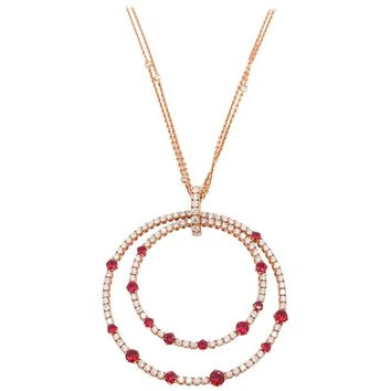Ruby and Diamond Necklace by Chopard
