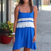 Sunny Dreams Dress {Blue}