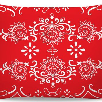 ROB Red Bandana Inspired Pillowcase