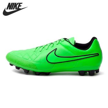 Original New Arrival NIKE TIEMPO GENIO LEATHER AG-R Men's Football Shoes Soccer Shoes