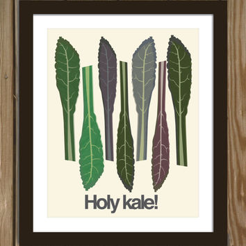 Holy kale! Poster Print