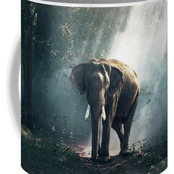 Lone Elephant - Coffee Mug