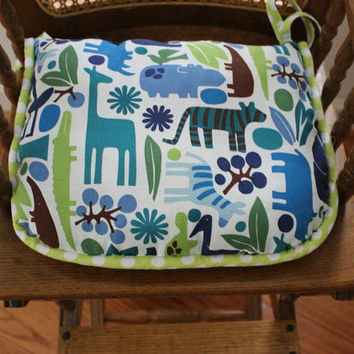 2 D Zoo High Chair Seat Cushion