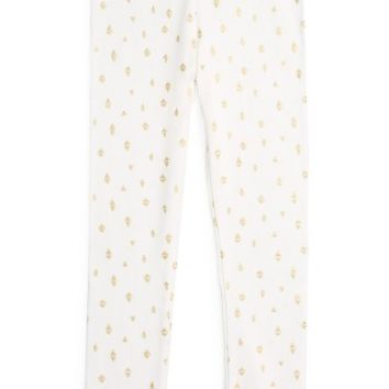 Kardashian Kids Foil Print Leggings (Toddler Girls & Little Girls) | Nordstrom