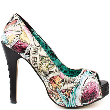 Iron Fist - Here I Lie Women's Platform Shoes