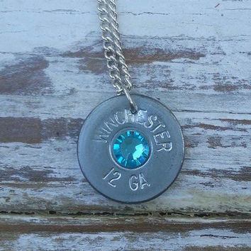 Shotgun necklace, bullet jewelry, bullet necklace, silver shotgun shell necklace,  cowgirl jewelry, country jewelry, country wedding gift