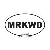 J!NX : The Hobbit Mirkwood Sticker