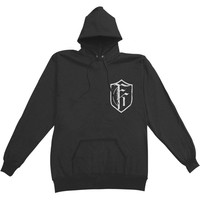 Fit For A King Men's  American Metalcore Hooded Sweatshirt Black