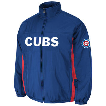 Chicago Cubs Authentic 2015 Therma Base Double Climate MLB Baseball Jacket