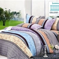 Trancoso Twin XL Comforter Set - College Ave Designer Series Dorm Bed Set For College Students Cool Items For College
