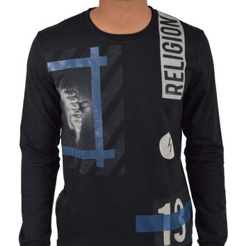 RELIGION CLOTHINGHAZARDOUS SWEATSHIRT - BLACK