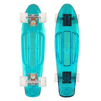 Mayhem Kids Skateboard Transparent Blue