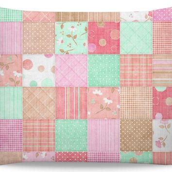 ROB Quilted with Neutrals Pillow Case