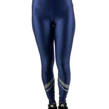HIGH WAIST LEGGINGS LIQUID NAVY